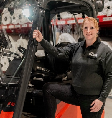 Let's introduce you to our Forklift Driver Ilona